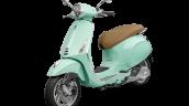 Vespa Primavera Mint Green Front 3 Quarter Lt