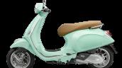 Vespa Primavera Mint Green Lhs