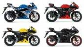 New Suzuki Gsx R150 Colours