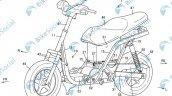 Suzuki Electric Scooter Patent Image