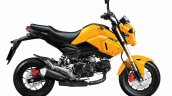2020 Honda Msx 125 Yellow Black Rhs