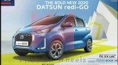 2020 Datsun Redi Go Facelift Exterior Leaked Image