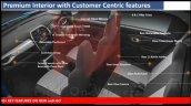 2020 Datsun Redi Go Facelift Interior Leaked Image