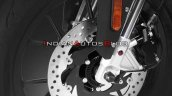 Aprilia Gpr150 Abs Front Disc Brake