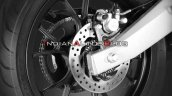 Aprilia Gpr150 Abs Rear Disc Brake