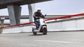 Niu Nqi Gt Electric Scooter Action Shot