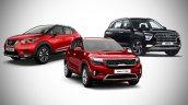 Nissan Kicks Vs Kia Seltos Vs Hyundai Creta
