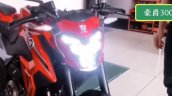 Suzuki Gsx S300 Haojue Dr300 Headlight On