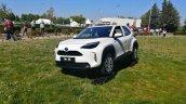 White Toyota Yaris Cross