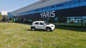 White Toyota Yaris Cross Exterior