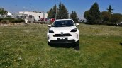 White Toyota Yaris Cross Front