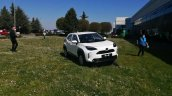 White Toyota Yaris Cross Front Quarters