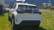 White Toyota Yaris Cross Rear