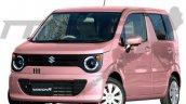 Suzuki Wagonr Smile Exterior Rendering 1b31