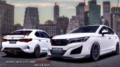 2020 Honda City Modified Bodykit Nks Exterior