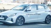 2020 Hyundai I20 Front Quarters Left Spy Shot A1be