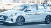 2020 Hyundai I20 Front Quarters Left Spy Shot