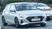 2020 Hyundai I20 Front Quarters Spy Shot