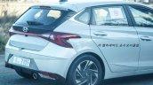2020 Hyundai I20 Rear Fascia Spy Shot E34b