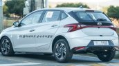 2020 Hyundai I20 Rear Quarters Spy Shot