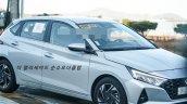 2020 Hyundai I20 Single Tone Spy Shot