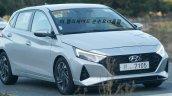 2020 Hyundai I20 Spied