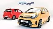 2020 Kia Picanto Facelift Morning Exterior Launch