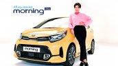 2020 Kia Picanto Facelift Morning Front Quarters