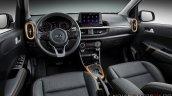 2020 Kia Picanto Facelift Morning Interior Dashboa