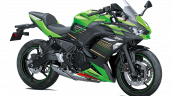 Bs6 Kawasaki Ninja 650 Lime Green Ebony