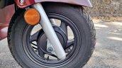 Hero Destini 125 Road Test Review Detail Shots Fro