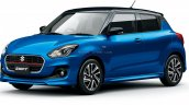 2020 Maruti Swift Facelift Blue Japan