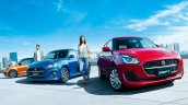 2020 Maruti Swift Facelift Japan