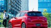 2020 Maruti Swift Facelift Rear Quarters
