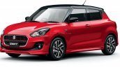 2020 Maruti Swift Facelift Red Japan