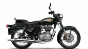 Royal Enfield Bullet 350 Bs6 Forest Green Rhs