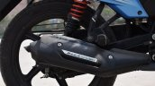 Tvs Victor Review Still Exhaust And Rear Suspensio