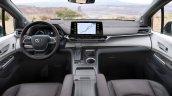 2021 Toyota Sienna Platinum Interior Dashboard