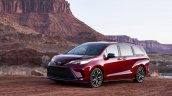 2021 Toyota Sienna Xse Front Quarters