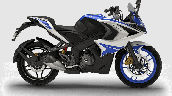 Bajaj Pulsar Rs200 Blue Rhs