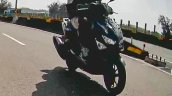 Yamaha Cygnus X 125 Spy Shot Headlamp