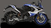 Bajaj Pulsar Rs200 Blue Rhs E0f0
