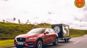Royal Enfield Interceptor 650 And Jaguar F Pace On