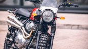 Royal Enfield Interceptor 650 Scrambler Front 3 Qu