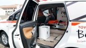 Toyota Innova Ambulance Cabin Entry