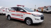 Toyota Innova Ambulance Modified Mpv Front Quarter