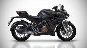 Bajaj Pulsar Rs400 Rendering Black
