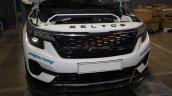 Custom Kia Seltos Modified Front Fascia Grille