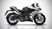 Bajaj Pulsar Rs400 Rendering White 6787
