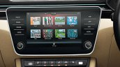 New Skoda Superb Facelift Infotainment System